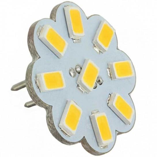 Ampoule flower 9 leds SMD 5730 culot G4 Coaxial