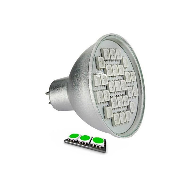 Mr16 Led Orange: Ampoule LED 27 SMD TYPE 5050 VERT MR16