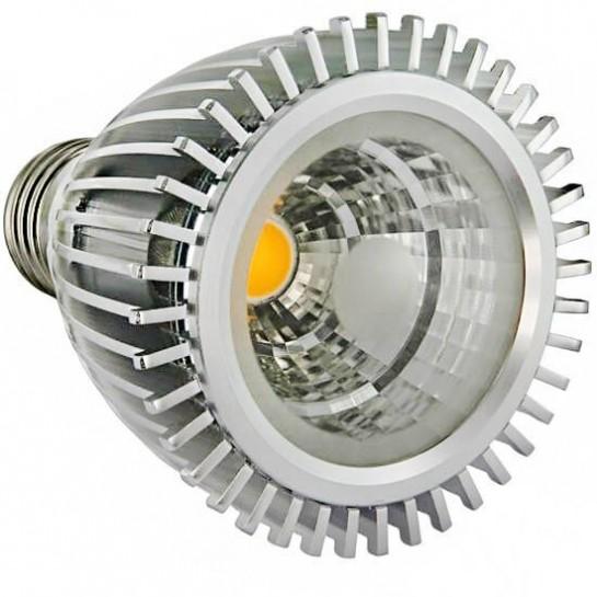 Ampoule PAR20 LED matriciel COB de 7 watts réflecteur 90°