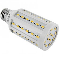 Lampe Spectra color 60 LEDs Samsung SMD 5630 Culot E27 230 Volts - 12 Watts dimmable