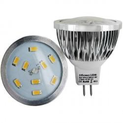 Ampoule Culot MR16 - 9 LED Samsung 5630 spectra color