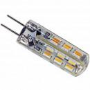 Ampoule Piccoled à culot G4 - 12 volts 24 leds SMD 3010