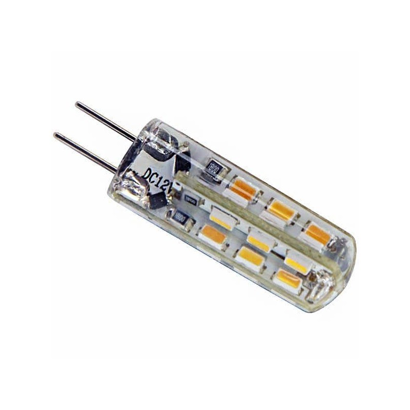 Ampoule piccoled culot g4 12 volts 24 led smd 3010 - Ampoule led 12 volts ...