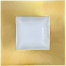 Spot fixe à culot G4 Talaos Gold pour ampoule LEDs ou Halogène