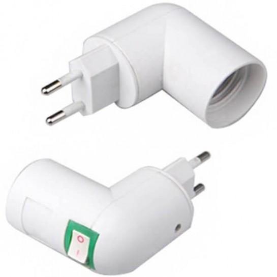 Support ampoule sur prise au format E27