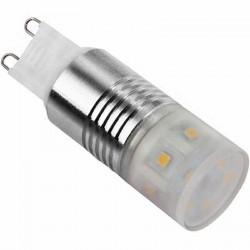 Ampoule G9 230 volts 3 watts équipée de 11 LEDs SMD type 2323