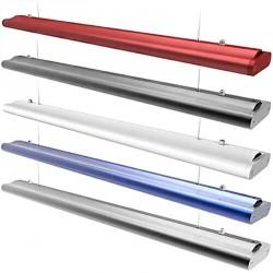 Luminaire suspendu ITOMÉ LED longueur 150 cm 50 watts