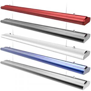 Luminaire suspendu ITOMÉ LED longueur 120 cm 40 watts