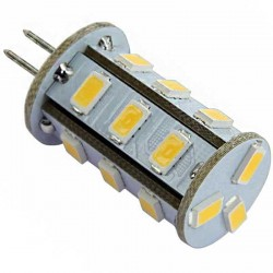 Ampoule à culot G4 - 12 volts 18 LED type SMD 5730