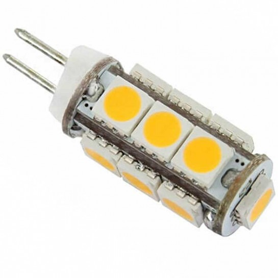 Ampoule culot g4 12 volts 13 leds type smd 5050 - Ampoule led 12 volts ...