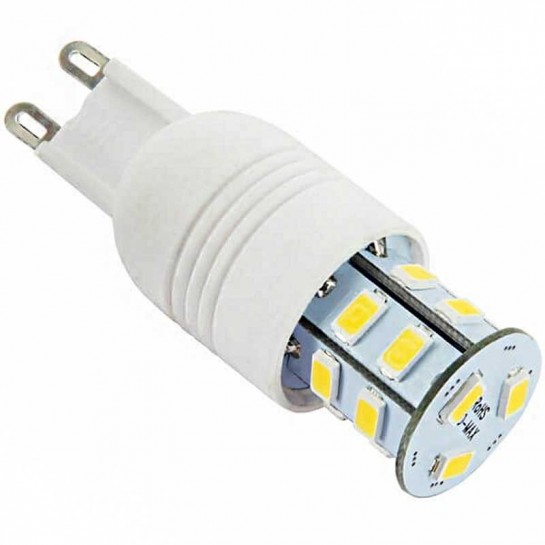 Ampoule à culot G9 - 230 volts 15 LED SMD type 5730