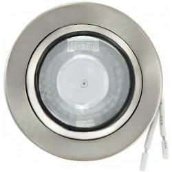 Spot orientable globeview à culot G4 pour lampe LEDs ou Halogène