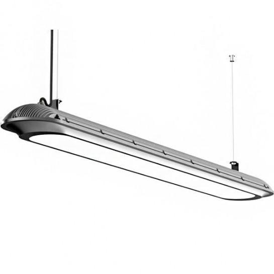 luminaire suspendu tanche linea led 50 watts 120cm. Black Bedroom Furniture Sets. Home Design Ideas