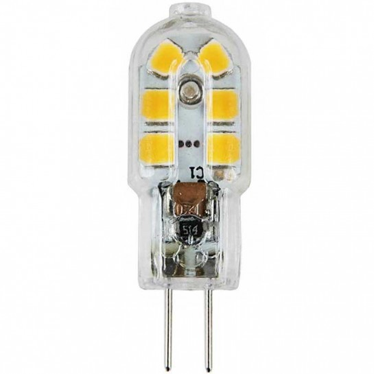 Ampoule culot G4 Tube14 leds SMD 3020 - tension 230 volts