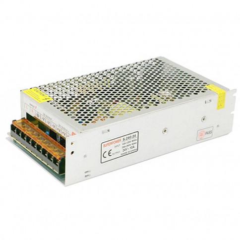 Alimentation LED transformateur 240 watts - 24 Volts