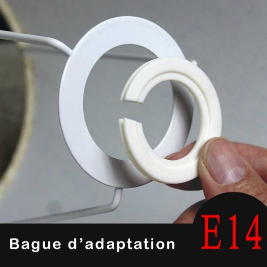 Bague-d'adaptation-E27-B22-vers E14