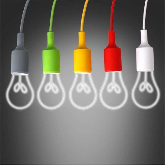 Lampe de bureau avec pince de fixation et inter - Cinq couleurs au choix