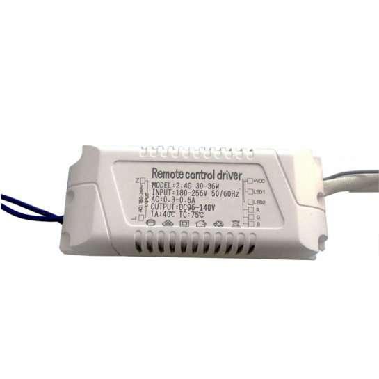 Boitier d'alimentation LED à courant constant de 30 à 36 watts