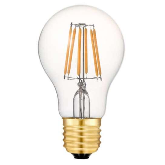 Ampoule sphérique à quatre filament LED culot E27 puissance 4 watts