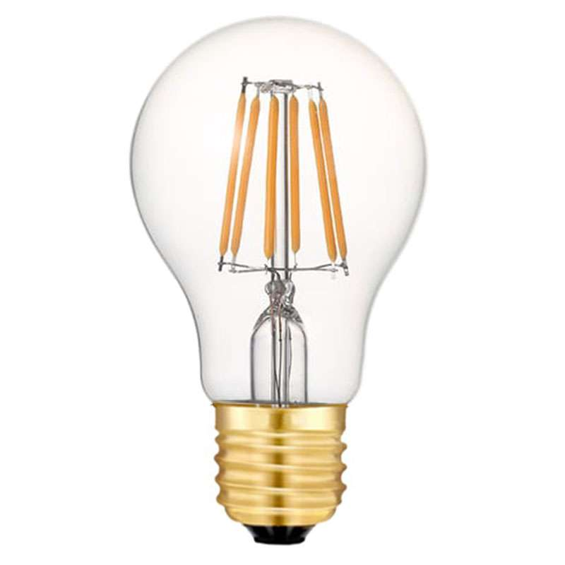 ampoule led sph rique 6 watts a60 culot e27 six filaments led. Black Bedroom Furniture Sets. Home Design Ideas