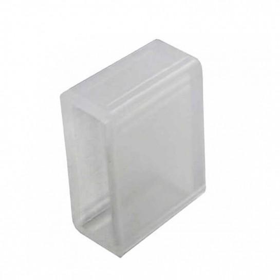 Bouchon silicone pour l'étanchéité des Strips LED 230 volts