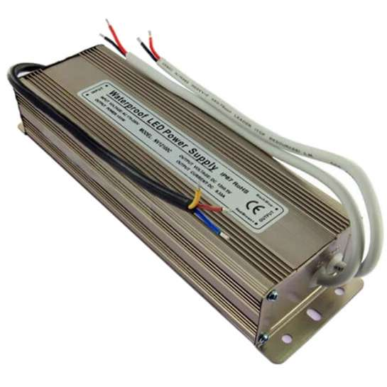 Alimentation LED transformateur 12 volts - 100 watts IP67 double sortie 50 watts