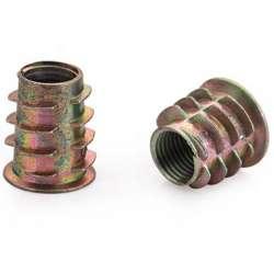 Insert fileté pour tube M10 au pas de 1mm
