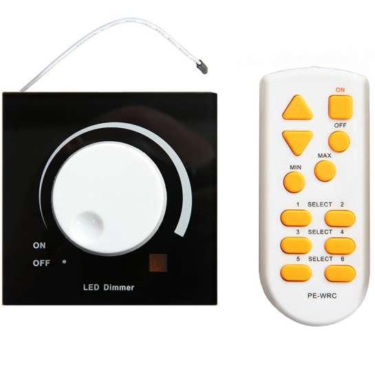 Variateur universel Stepless 230 volts ou basse tension à bouton rotatif avec télécommande puissance 150 watts