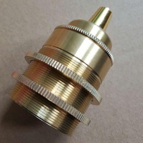 Douille E27 élégance vintage en bronze pour lampe style Edison