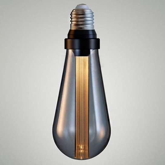 Ampoule en format ST64 avec diffuseur optique lineaire