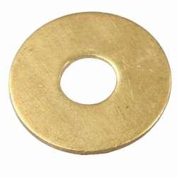 Rondelle en laiton pour tube M10 de lustrerie diamètre 30mm