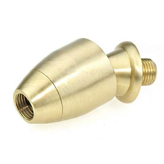 Manchon en laiton Rotule laiton Herald, une articulation pour tube fileté M10 au pas de 1mm