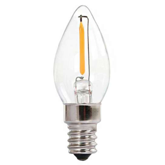 Ampoule Led Flamme Pour Bougie Filament Led De 1 Watts