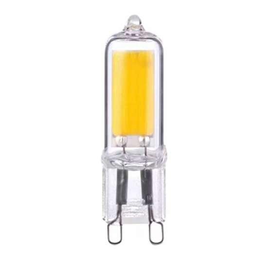 Ampoule LED G9 5 watts coque en verre LED type 2508 culot G9