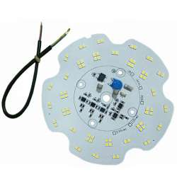 Platine AC LED 50 watts à alimentation transistorisé 230V - High bay