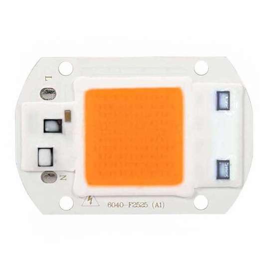 AC LED COB horticole de 30 watts à alimentation transistorisé