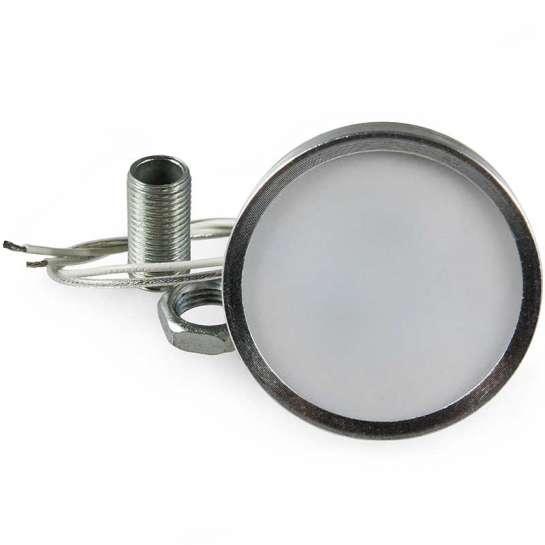 Support de lampe G4 sur traversée de cloison avec tête amovible