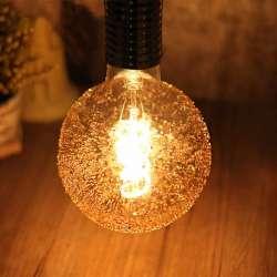 Ampoule sphérique Filament LED G125 Perlée