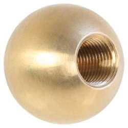 Boulle en laiton diamètre 30mm taraudé M10