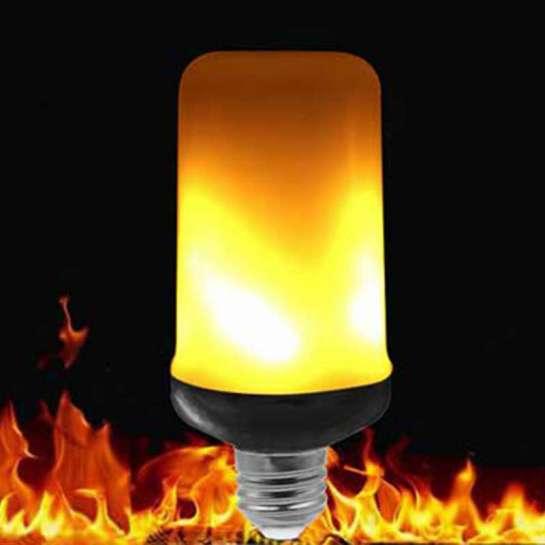 Ampoule LED E27 à effet flamboyant