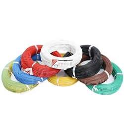 Câble électrique téflon couleur 0.3mm² longueur de 1m