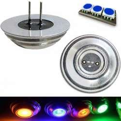Ampoule LED COB bleue culot G4 de 2 watts pin coaxial