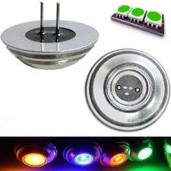Ampoule LED COB vert culot G4 de 2 watts pin coaxial
