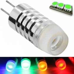 Ampoule à culot G4 - éclairage vert COB de 1,5 watts