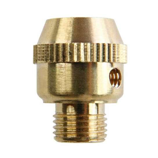 Serre câble électrique en laiton M10 moleté avec vis de bloquage M4