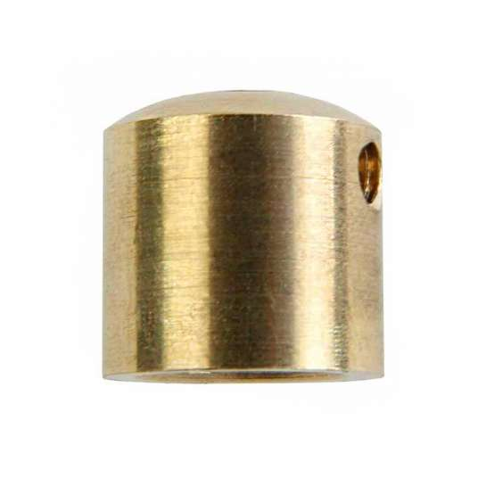 Serre câble électrique en laiton M10 cylindrique diamètre 15mm avec vis de bloquage M4