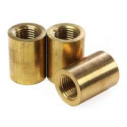 bague filetée laiton pour tube M10 diamètre 15mm