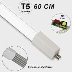 Mini tube LED T5 48 LED SMD 2835 longueur 600 mm