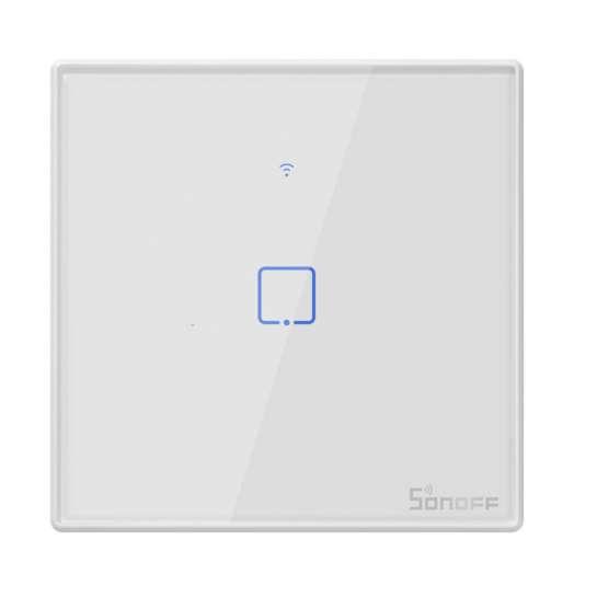 Bouton interupteur tactile Sonoff programmable avec contôle Wifi Smart phone ou tablette