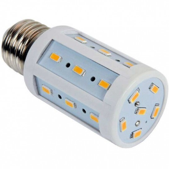 Lampe Spectra color 24 LED SMD 5630 culot E27 - 10 à 60 Volts 4 Watts